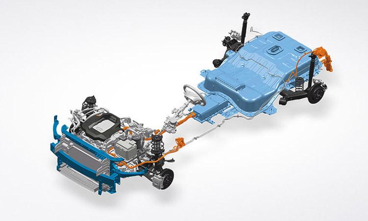 เครื่องยนต์ hyundai IONIQ Electric