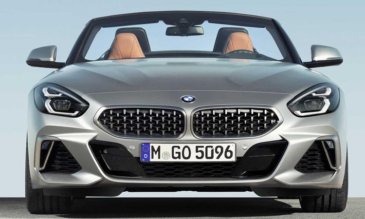 ดีไซน์ด้านหน้า BMW Z4