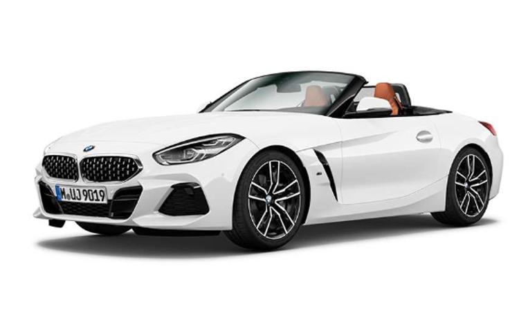 BMW Z4 สีขาว