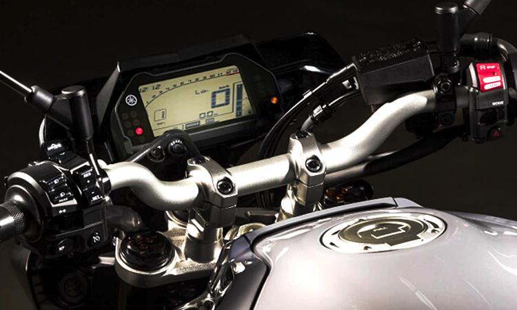 หน้าจอ Yamaha MT-10