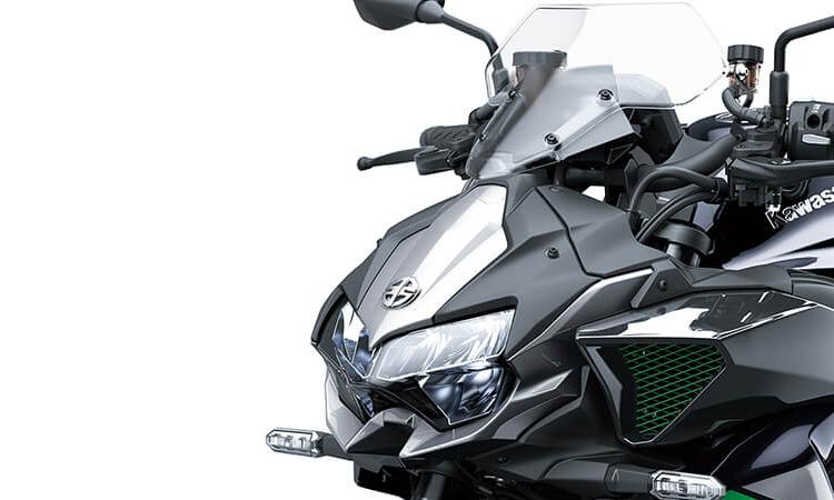 ดีไซน์ด้านหน้า Kawasaki Z H2