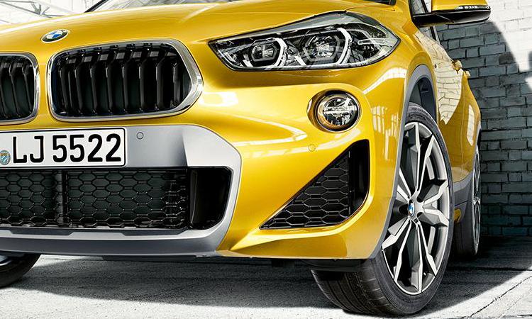 ดีไซน์กระจังหน้า BMW X2