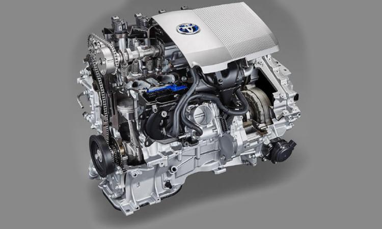 เครื่องยนต์ Toyota C-HR KARL LAGERFELD Hybrid High
