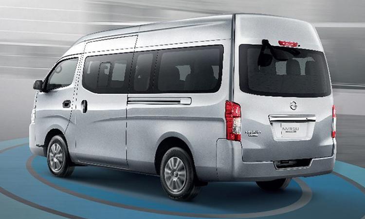 ีไซน์รอบคัน Nissan Urvan