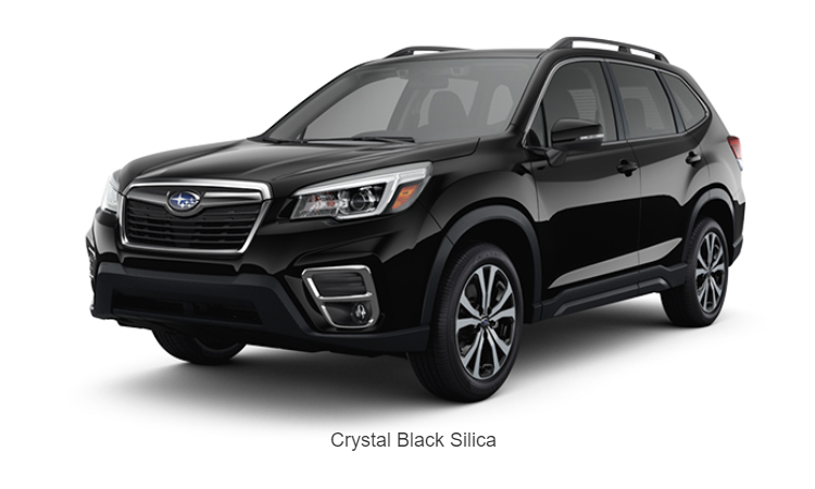 Subaru Forester GT Edition สีดำ Crystal Black Silica