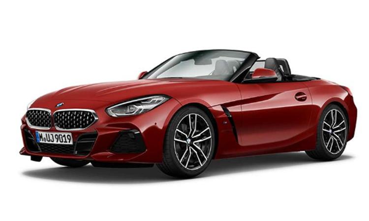 BMW Z4 สีแดง