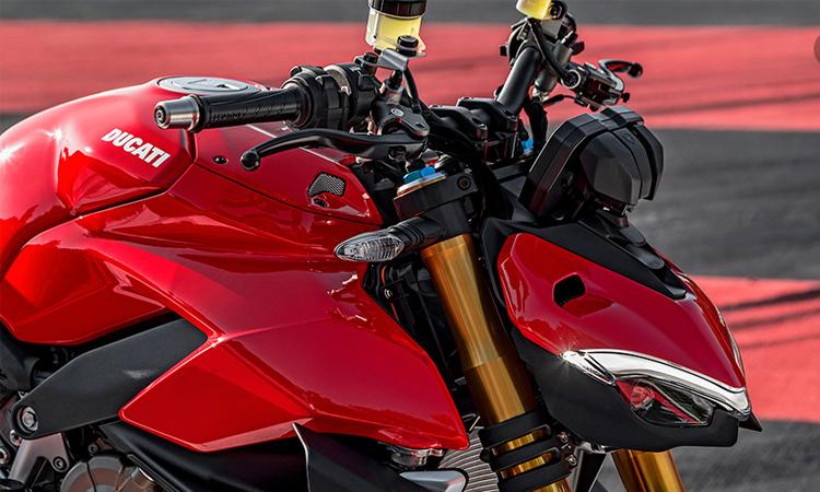 ดีไซน์ด้านหน้า Ducati Streetfighter V4