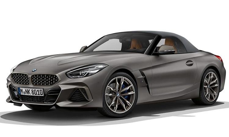 BMW Z4 สีเทา