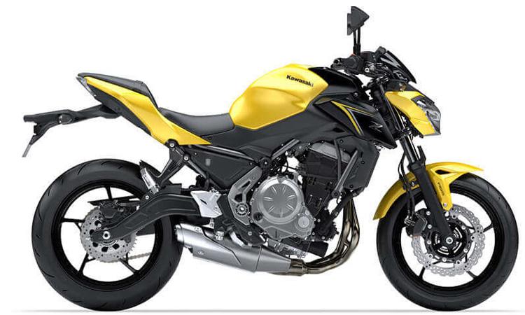 ดีไซน์ Kawasaki Z650 ABS