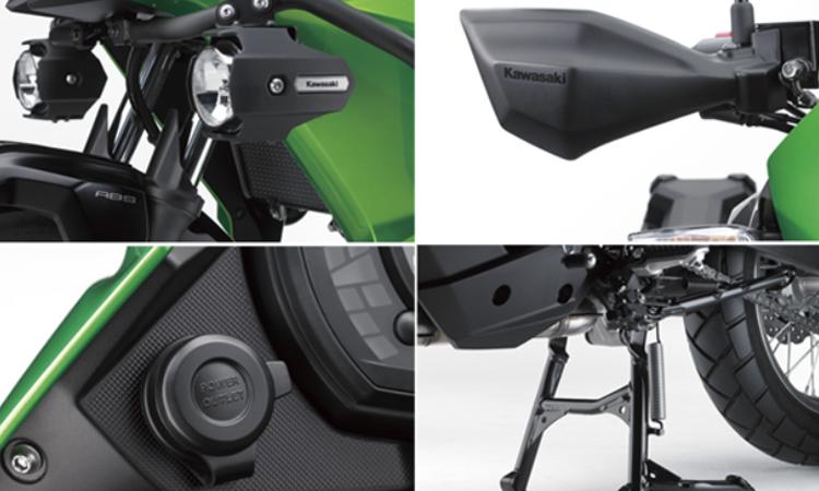 การออกแบบ Kawasaki Versys-X 300