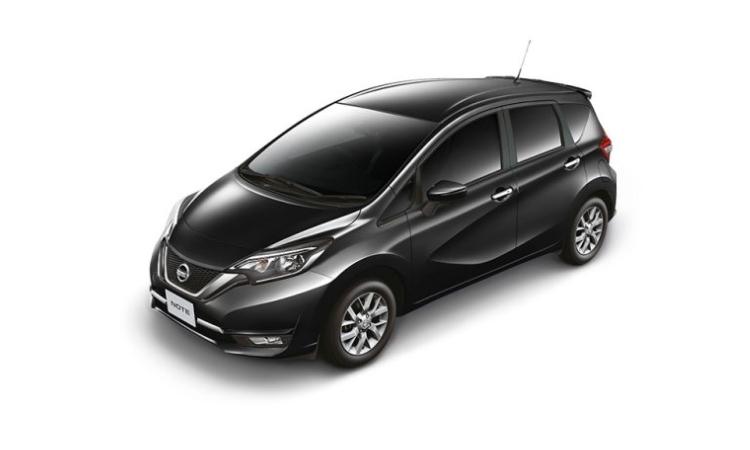 Nissan NOTE สีดำ Black Star