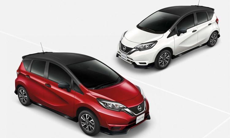 ราคา ตารางผ่อนดาวน์ Nissan NOTE N-Sport Package และปรับราคาลงในทุกรุ่นย่อย
