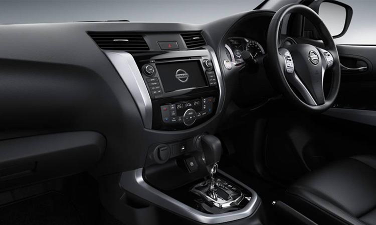 ดีไซน์ด้านใน Nissan Navara King Cab