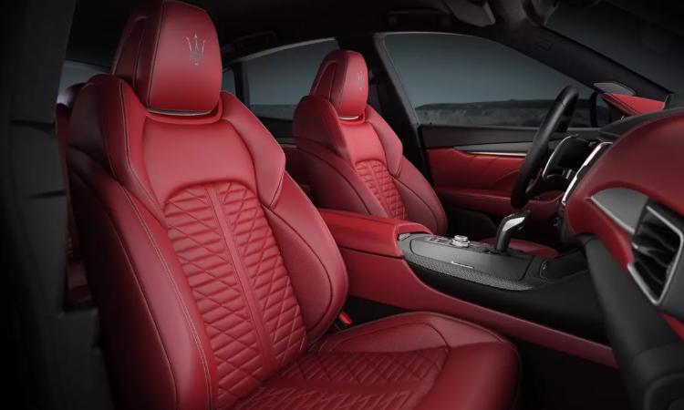ดีไซน์เบาะ Maserati Levante รุ่น Grigio Matte Edition