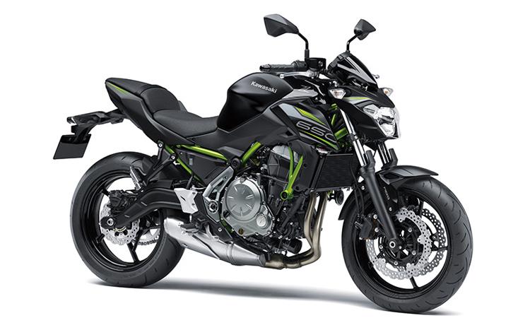 Kawasaki Z650 สีดำ