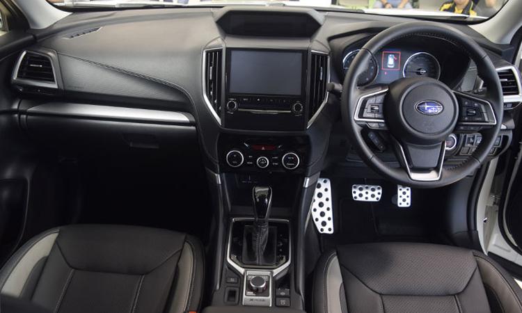 ภายใน Subaru Forester GT Edition