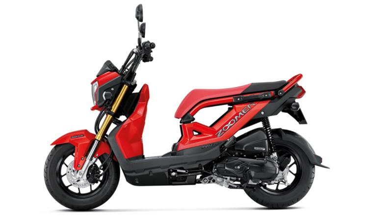 Honda Zoomer-X สี แดง-ดำ