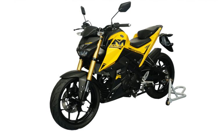 Yamaha M-SLAZ 150 สีเหลืองดำ