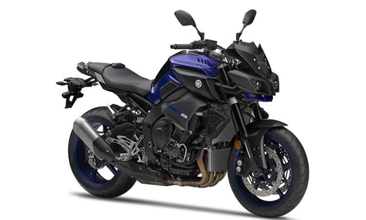 Yamaha MT-10 สี Race Blu