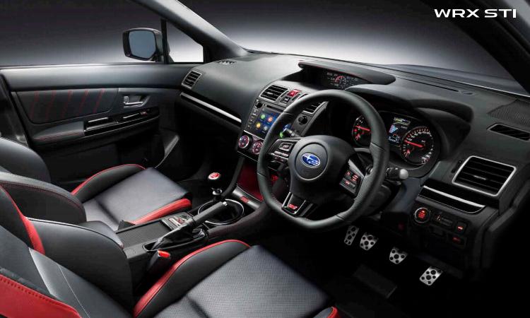 ีไซน์ภายใน Subaru WRX