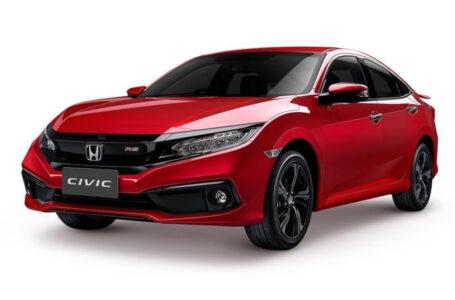 HONDA เปิดตัว CIVIC TURBO RS สีแดงอิกไนต์