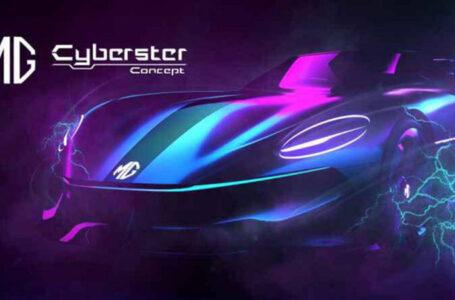 MG ปล่อยทีเซอร์ MG Cyberster
