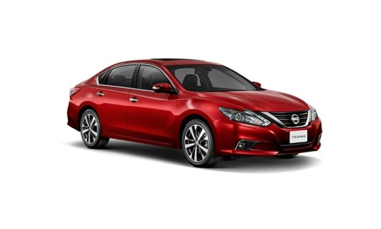 Nissan Teana Minorchange สี RADIANT RED