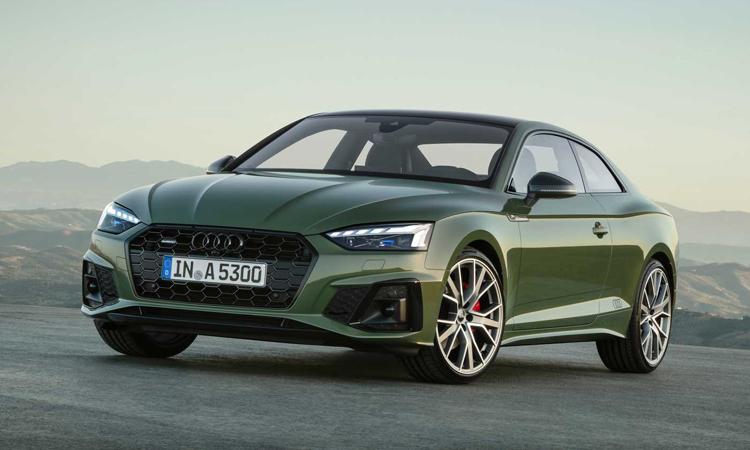 ราคา ตารางผ่อนดาวน์ Audi A5 Coupe'