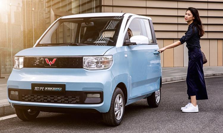 Wuling Hongguang Mini EV ตกแต่งภายในใหม่ ก่อนเปิดตัว