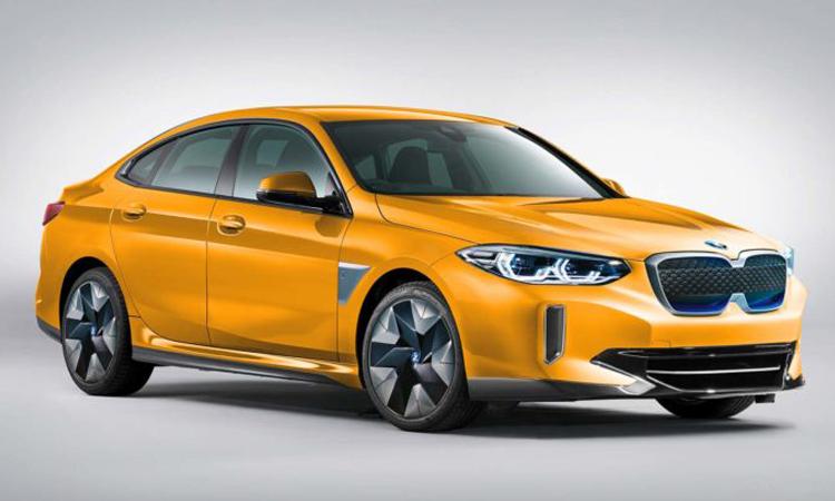 All-New BMW i2 EV