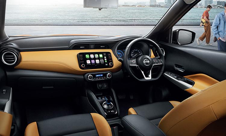 ดีไซน์ภายใน Nissan KICKS e-POWER