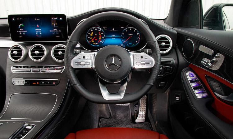 วงมาลัย Mercedes-Benz GLC 300e Coupe'