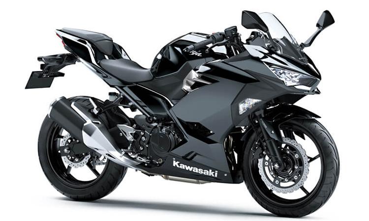 Kawasaki Ninja 250 สี METALLIC SPARK BLACK