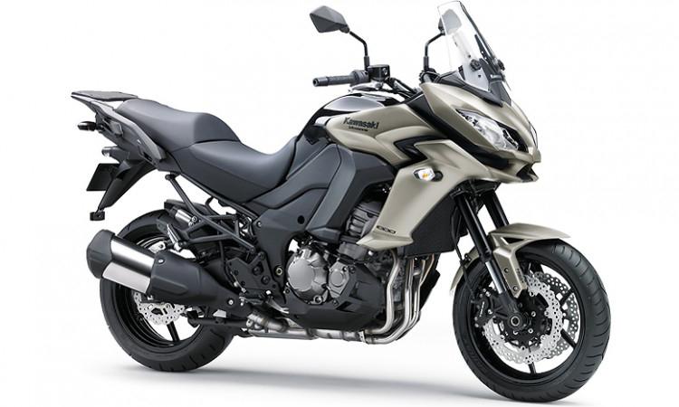 Kawasaki Versys 1000 สีเทา