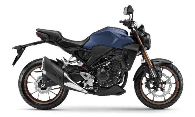 Honda CB300R สี น้ำเงิ-ดำ