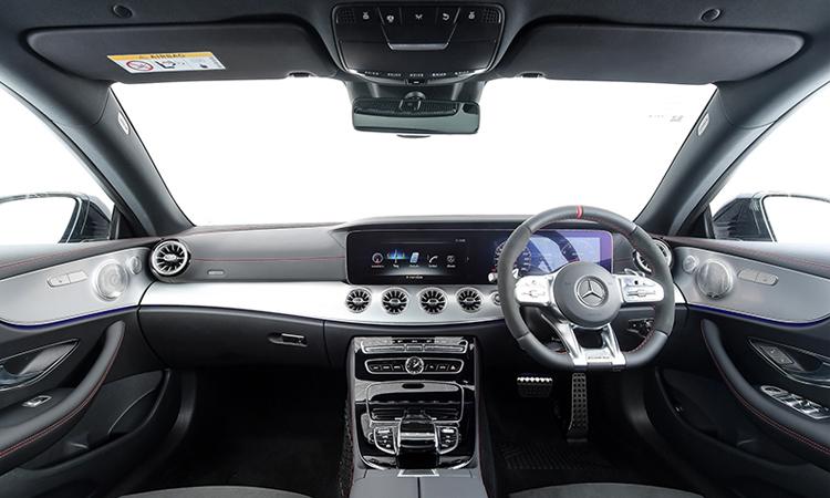ดีไซน์ด้านใน AMG E53 Coupe' 4MATIC+