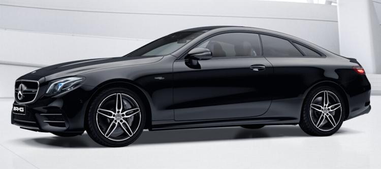 Mercedes-AMG E53 Coupe' 4MATIC+ สี black