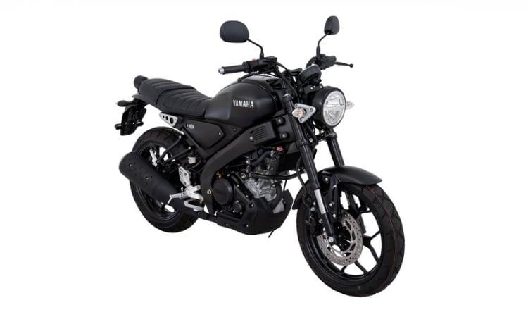 Yamaha XSR155 สีดำ