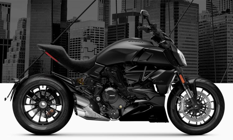 สีตัวถัง Ducati Diavel