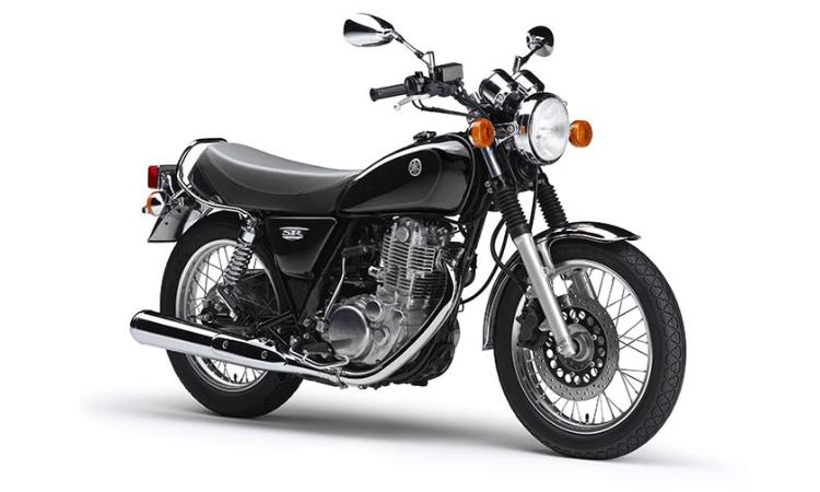 Yamaha SR400 สี Black
