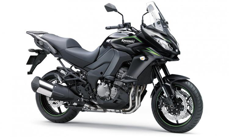 Kawasaki Versys 1000 สีดำ