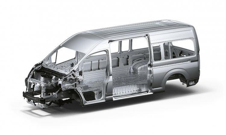 โครงสร้างตัวรถ Toyota HiAce