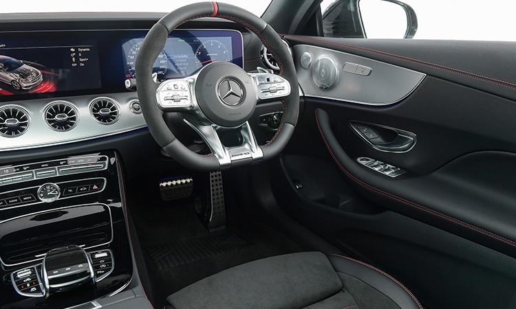 การออกแบบภายใน AMG E53 Coupe' 4MATIC+