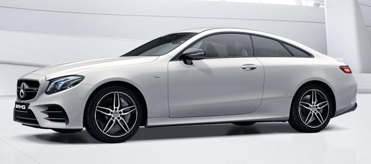 Mercedes-AMG E53 Coupe' 4MATIC+ สี polar white