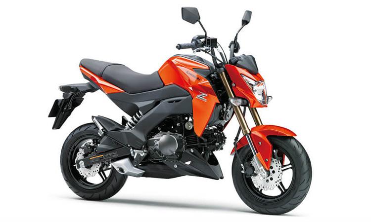 Kawasaki Z125/Z125PRO สีส้ม
