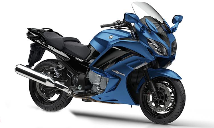 Yamaha FJR1300A สีน้ำเงิน