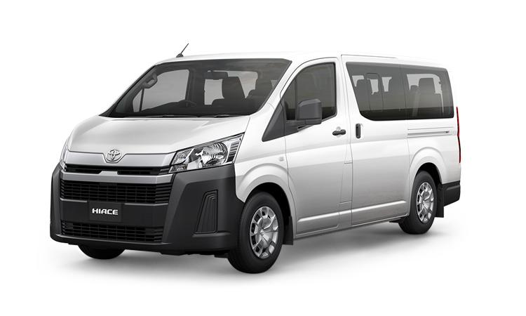 Toyota HiAce สีขาว White