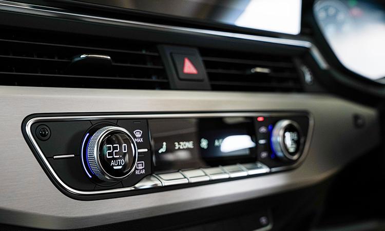 ปุ่มควบคุม Audi A5 Coupé