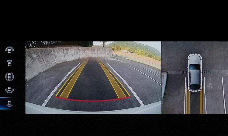 กล้องรอบคัน Mercedes-Benz GLC 300e Coupe'