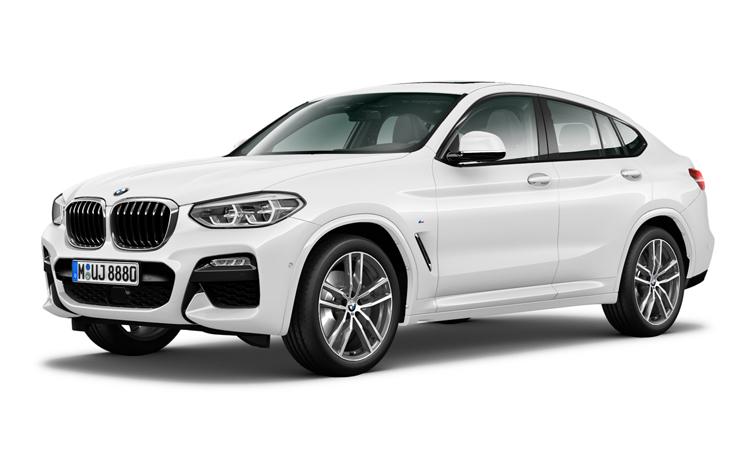 BMW X4 xDrive20d M Sport สีขาว Alpine White